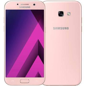 Samsung Galaxy A5 (2017) růžový (SM-A520FZIAETL) + ZDARMA Dárková sada kosmetická GILLETTE Mach3 Turbo - Star Wars design kazeta Album MP3 Zimní playlist 2017