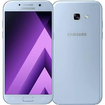 Samsung Galaxy A5 (2017) modrý (SM-A520FZBAETL) + ZDARMA Dárková sada kosmetická GILLETTE Mach3 Turbo - Star Wars design kazeta Album MP3 Zimní playlist 2017
