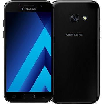 Samsung Galaxy A3 (2017) černý (SM-A320FZKNETL) + ZDARMA Power Bank Xiaomi Power Bank 16000 mAh Silver