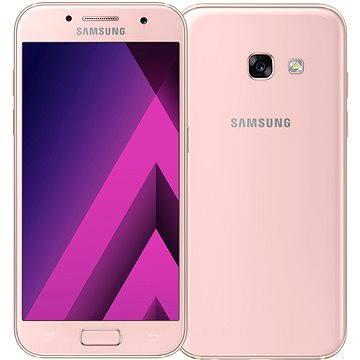 Samsung Galaxy A3 (2017) růžový (SM-A320FZINETL) + ZDARMA Dárkový poukaz v hodnotě 1000Kč na nákup značkového mobilního příslušenství Samsung Power Bank Xiaomi Power Bank 16000 mAh Silver