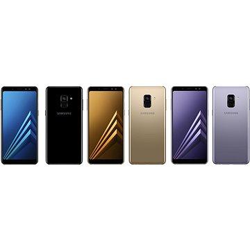 Samsung Galaxy A8 Duos + ZDARMA Brýle pro virtuální realitu Samsung Gear VR + Samsung Simple Controller Bluetooth reproduktor Samsung Level Box Slim Black
