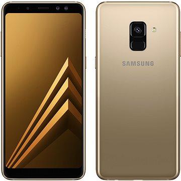 Samsung Galaxy A8 Duos zlatý (SM-A530FZDDXEZ)