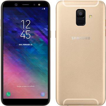 Samsung Galaxy A6 zlatý (SM-A600FZDNXEZ) + ZDARMA Digitální předplatné Týden - roční
