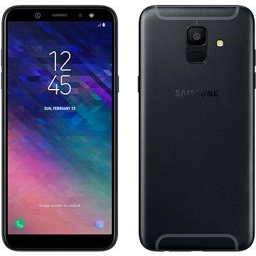 Samsung Galaxy A6 černý (SM-A600FZKNXEZ) + ZDARMA Digitální předplatné Týden - roční