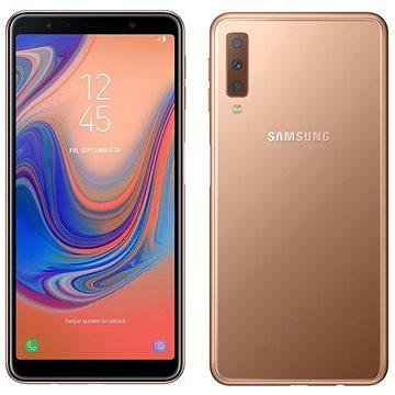 Samsung Galaxy A7 Dual SIM zlatá (SM-A750FZDUXEZ )