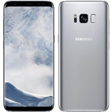 EU Samsung Galaxy S8 stříbrný (SM-G950FZSAETL_) + ZDARMA Digitální předplatné Interview - SK - Roční od ALZY Poukaz Elektronický dárkový poukaz Alza.cz v hodnotě 1000 Kč, platnost do 31/12/2017