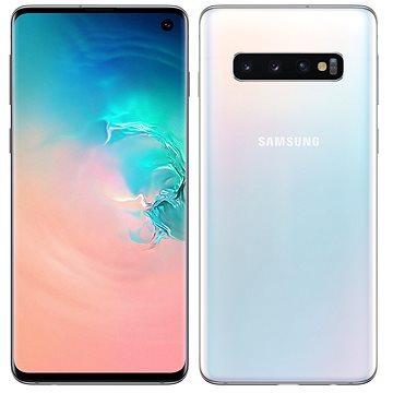 Samsung Galaxy S10 Dual SIM 128GB bílá (SM-G973FZWDXEZ)
