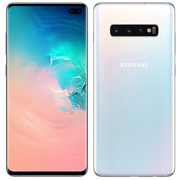 Samsung Galaxy S10+ Dual SIM 128GB bílá (SM-G975FZWDXEZ)