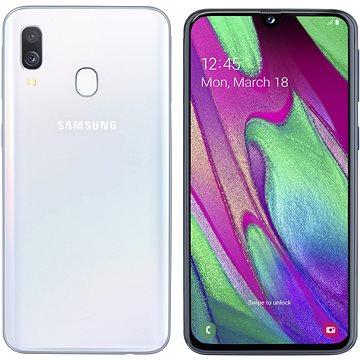 Samsung Galaxy A40 Dual SIM bílá (SM-A405FZWDXEZ)