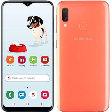 Samsung Galaxy A20e Dual SIM oranžová v limitované edici od Seznamu