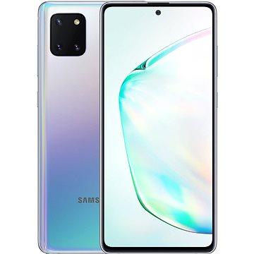 Samsung Galaxy Note10 Lite gradientní stříbrná (SM-N770FZSDXEZ)