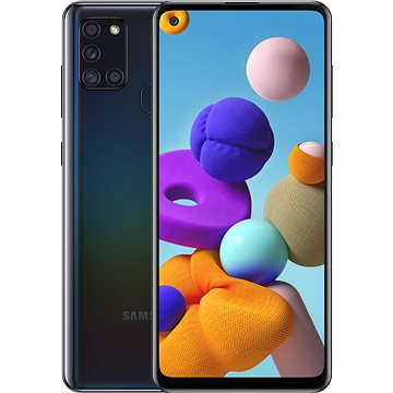 Samsung Galaxy A21s 64GB černá (SM-A217FZKOEUE) + ZDARMA Antivirus Bitdefender Mobile Security pro Android pro 1 zařízení na 1 rok (elektronická licence)