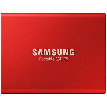 Samsung SSD T5 500GB červený (MU-PA500R/EU)
