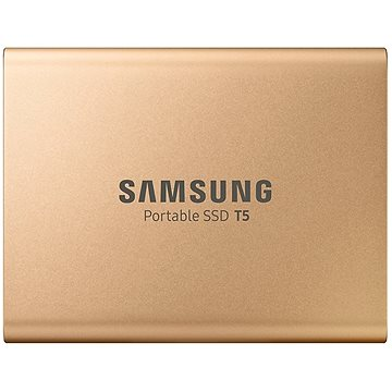 Samsung SSD T5 500GB zlatý (MU-PA500G/EU)