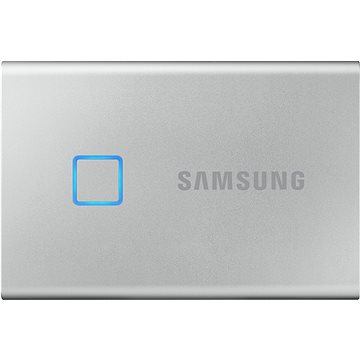 Samsung Portable SSD T7 Touch 500GB stříbrný (MU-PC500S/WW)