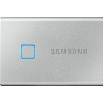 Samsung Portable SSD T7 Touch 2TB stříbrný (MU-PC2T0S/WW)