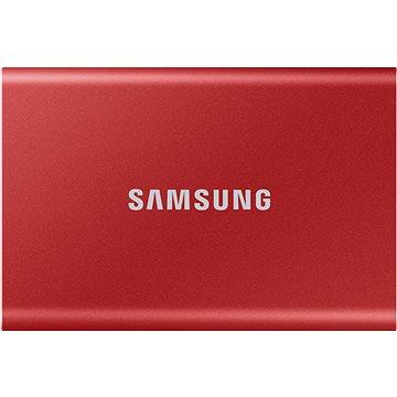 Samsung Portable SSD T7 1TB červený (MU-PC1T0R/WW)