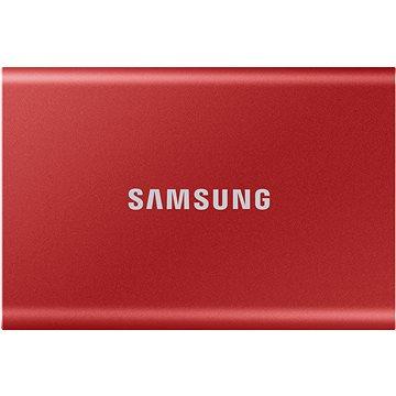 Samsung Portable SSD T7 2TB červený (MU-PC2T0R/WW)