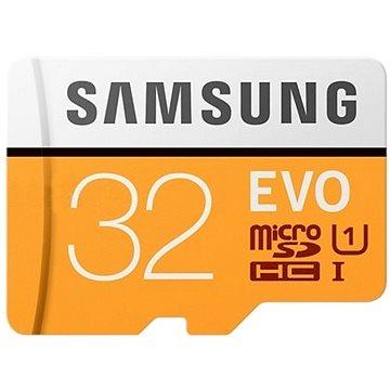 Samsung MicroSDHC 32GB EVO UHS-I U1 + SD adaptér (MB-MP32GA/EU)