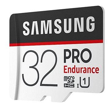 Samsung micro SDHC 32GB PRO Endurance + SD adaptér (MB-MJ32GA/EU)
