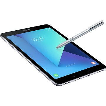 Samsung Galaxy Tab S3 9.7 LTE stříbrný (SM-T825NZSAXEZ) + ZDARMA Digitální předplatné Interview - SK - Roční od ALZY