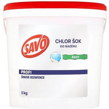 SAVO Do bazénu Chlor Šok dezinfekce 5kg (67449737)