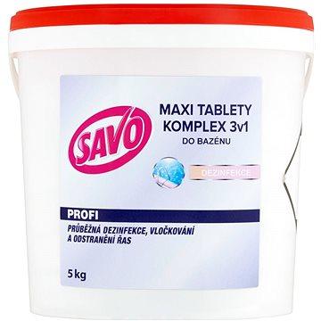 SAVO Do bazénu Maxi tablety komplex 3v1 5kg (67449374)