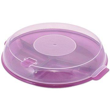 Branq Třídílný talíř do mikrovlnné trouby s poklicí (P1187)