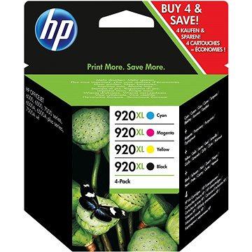 HP C2N92A č. 920XL combo pack (C2N92AE) + ZDARMA Šála CHAM CHAM šedo/bílá