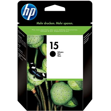 HP C6615DE č. 15 černá (C6615DE)