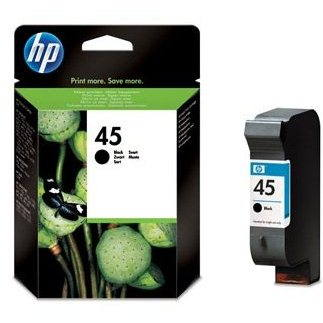 HP 51645A č. 45 černá (51645AE)