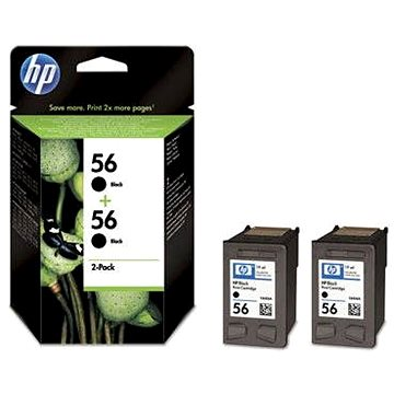 HP C9502AE č. 56 2 pack