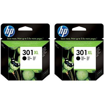 HP CH563EE č. 301XL černá 2ks (2xCH563EE)