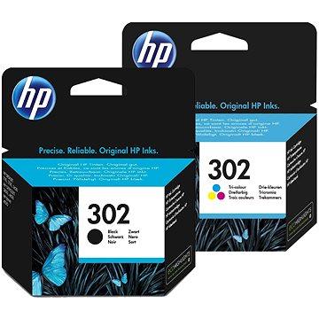 HP č. 302 černá+barevná (F6U66AE+F6U65AE)