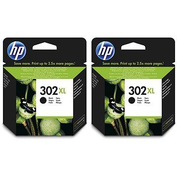 HP F6U68AE č. 302XL černá 2ks (2xF6U68AE)
