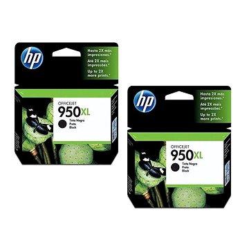 HP CN045AE č. 950XL 2ks černá (2xCN045AE)