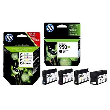 HP CN045AE č. 950XL + HP C2P43AE combo pack černá (CN045AE+C2P43AE)
