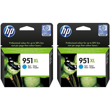 HP CN046AE č. 951XL 2ks azurová (2xCN046AE)