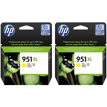 HP CN048AE č. 951XL 2ks žlutá (2xCN048AE)