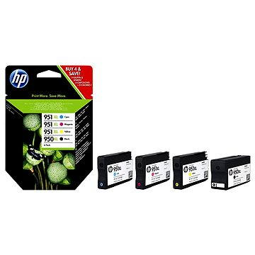 HP C2P43AE č. 950XL/951XL combo pack černá, barevná (C2P43AE)