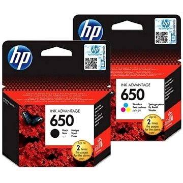 HP č. 650 černá+barevná (CZ101AE+CZ102AE)