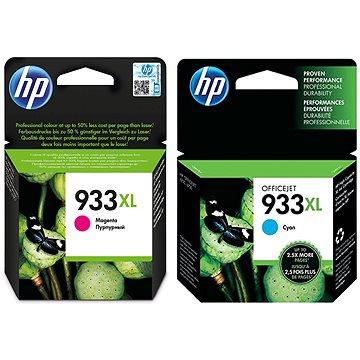HP CN054AE + HP CN055AE č. 933XL azurová + purpurová (CN054AE+CN055AE)