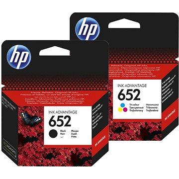 HP č. 652 černá+barevná (F6V25AE+F6V24AE)
