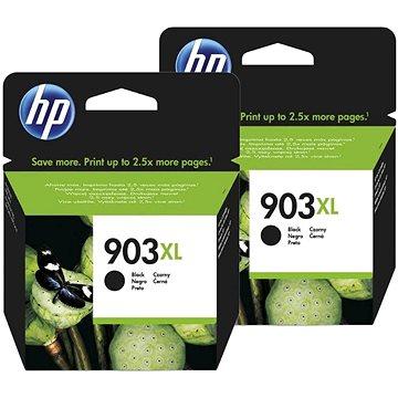 HP T6M15AE č. 903XL černá 2ks (2xT6M15AE)