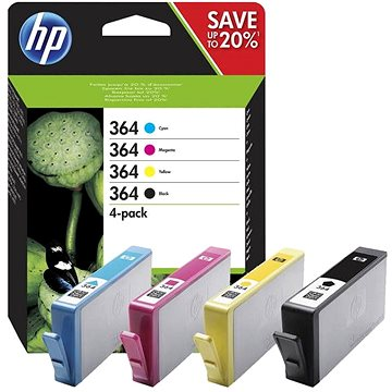 HP N9J73AE č. 364 multipack + ZDARMA Deka Spokey Picnic pop
