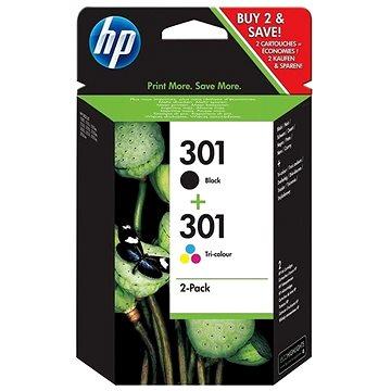 HP N9J72AE č. 301 multipack + ZDARMA Deka Spokey Picnic tartan