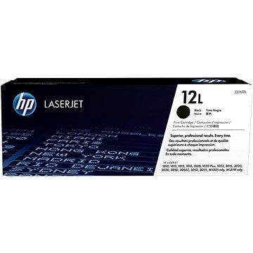 HP Q2612L č.12L černý
