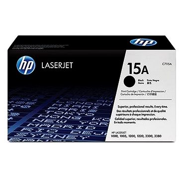 HP C7115A č. 15A černý - originální + ZDARMA Fotopapír SAFEPRINT A4 10 listů matný
