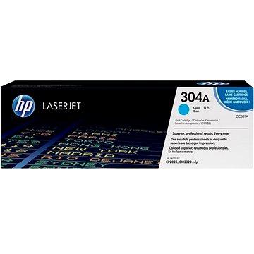 HP CC531A modrý - originální