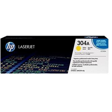 HP CC532A žlutý - originální